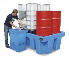 Auffangwanne aus Polyethylen (PE) für KTC/IBC Container