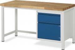 System Werkbänke mit 1 Schublade, 1 Tür