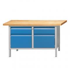 Werkbänke SERIE ALLROUND - 2 Schubladen, 2 Türen