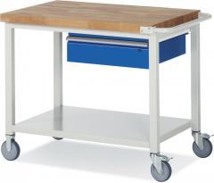 Mobile Werkbänke mit 1 Schublade