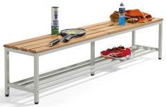 Sitzbänke PROFI mit Holzleisten, inkl. Schuhrost