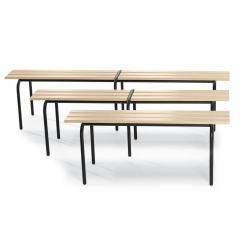 Sitzbänke, stapelbar