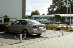 Parkplatzsperren, umlegbar
