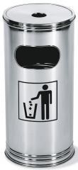 Ascher-/Abfallbehälter Kombi