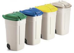 Fahrbarer Abfallcontainer