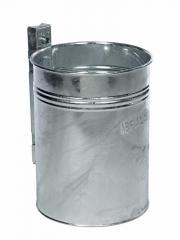 Runde Abfallbehälter, verstärkte Ausführung