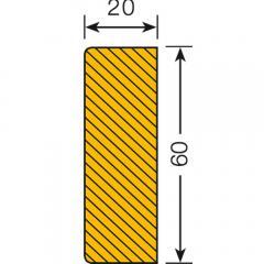 Prallschutz für glatte Flächen | Rechteck