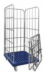 Rollbehälter Economy - Kunststoff- Stahl- oder Holzboden
