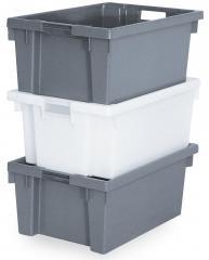 Drehstapelbehälter - LxB 600 x 400 mm - Lebensmittelecht