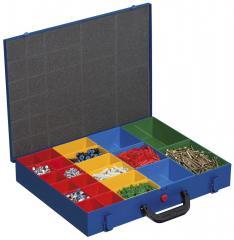 Kleinteile-Sortimentskoffer aus Stahlblech