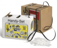 Hand-Umreifungssystem aus dem Karton