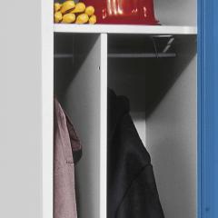 Trennwand für Garderobenspind System SP1