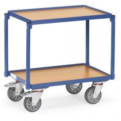 Etagen-Roller 250 kg, mit 2 Holzböden