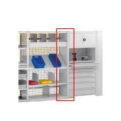 Zubehör zu Steckregal ST 4000 PLUS Verzinkt | 2000 | 300 | Seitenwand-Verkleidungsblech
