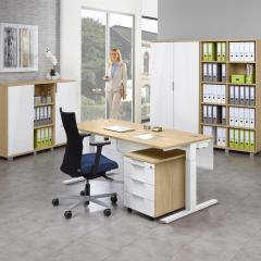 Schreibtisch T-Fuß BOSSINO