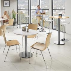 Cafeteria Tischsystem PARMA rund