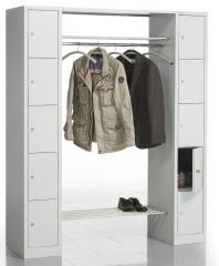 Garderoben-/Kombination SP3 Lichtgrau RAL 7035 | 1620 | 2 | 10