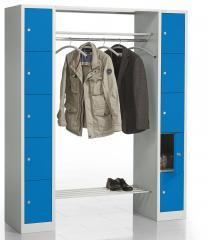 Garderoben-/Kombination SP3 Himmelblau RAL 5015 | 1620 | 2 | 10