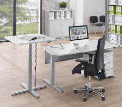 Sitz-/Steh-Besprechungs- und Konferenztisch MODUL