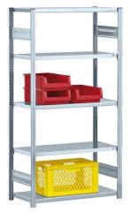 Steckregal ST 4000 PLUS - bis 240 kg Fachbodentraglast, beidseitige Nutzung