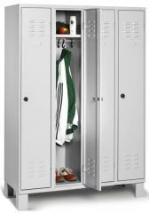 Garderoben-Stahlspinde BASIC mit Füßen