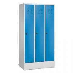 Garderoben-Stahlspinde BASIC mit Sockel