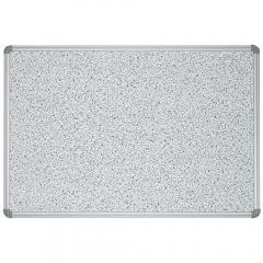 Pinntafel DELTA-BOARD Struktur, grau gesprenkelt