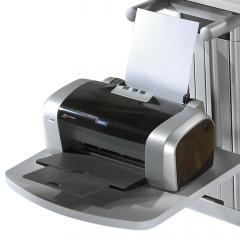Drucker-Ablageboard PROFI MODUL Lichtgrau