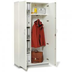 Garderobenschrank PROFI MODUL Weiß | 1000 | 5 + Garderobe