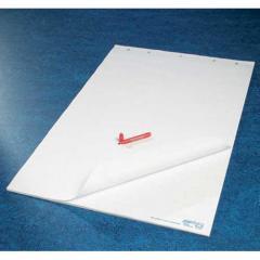 Flipchartpapier blanko