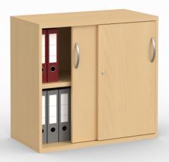 Schiebetürenschrank PROFI MODUL Buchedekor | 800 | 780 mm (2OH)