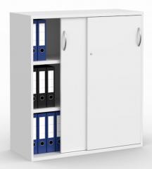 Schiebetürenschrank PROFI MODUL Weiß | 1000 | 1140 mm (3 OH)