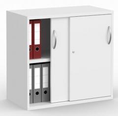 Schiebetürenschrank PROFI MODUL Weiß | 800 | 780 mm (2OH)
