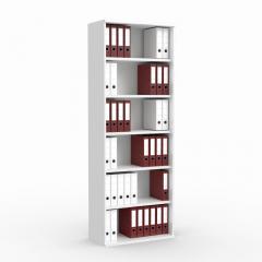 Regal PROFI MODUL Weiß | 800 | 2250 mm (6 OH)