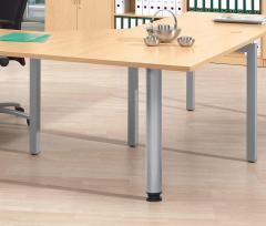 Verkettungs- und Anbauplatten für Comfort-Tische BASE LINE