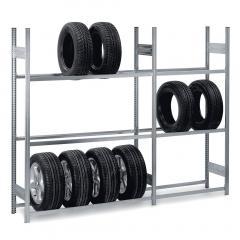 Komplettangebot Reifen-Steckregal - 3 Ebenen
