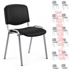 8 Besucherstühle ISO im SET - Kunstleder V