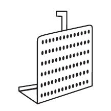 CPU Halter Metall Alusilber