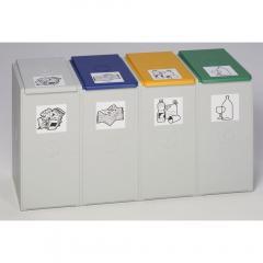 Wertstoff-Sammlersystem T 4000 - 40 L