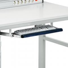 Tastaturhalter ESD inkl. Mausplatte