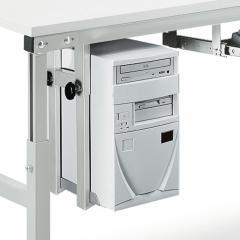 PC-Halter für Montage unter dem Tisch