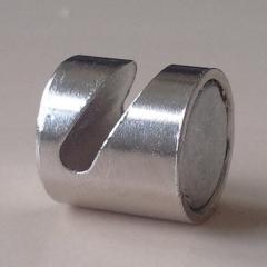 Neodym Magnete mit Haken, rund