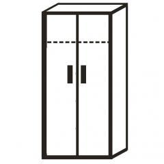 XXL-Garderobenschrank PROFI MODUL Weiß | 800