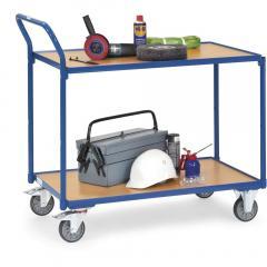 Leichte Tischwagen 300 kg, mit 2 Böden