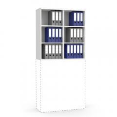 Aufsatzregal MULTI MODUL Weiß | 1000 | 1055 mm (3 OH)