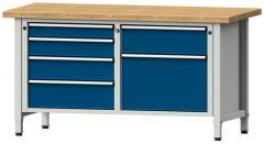 Werkbänke SERIE ERGO - 2 + 3 + 1 Schubladen