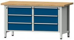 Werkbänke SERIE ERGO - 6 Schubladen