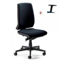 Bürodrehstuhl CONTO ohne Armlehnen