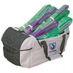 Hebebänder 8teilig mit Tasche