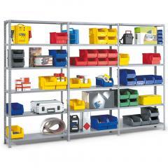 Komplett-Angebote Stahl-Schraubregal SR 3000